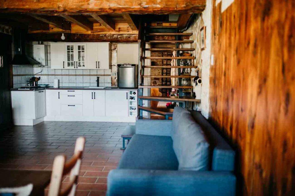 Cocina Casa Rural Teruel