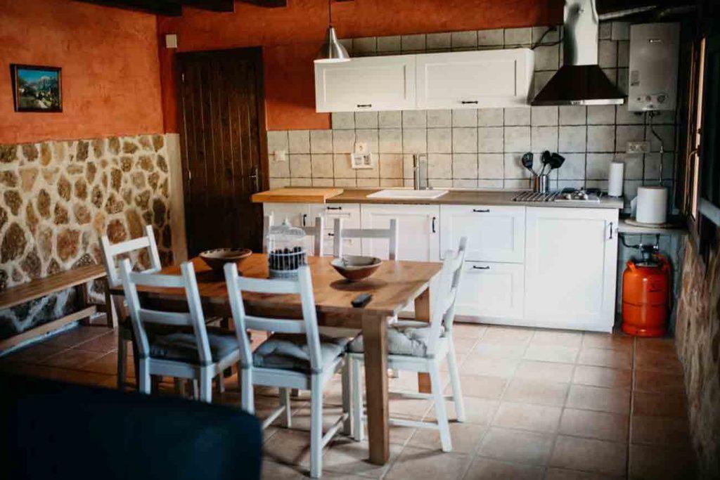 Cocina Vip Casa Rural Teruel
