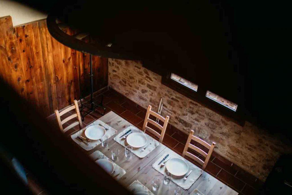 Mesa Comedor Casa Rural Teruel